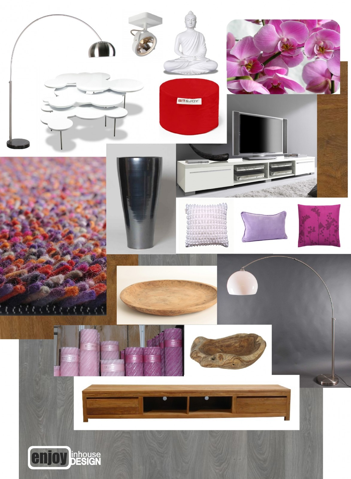 Enjoy Inhouse Design re-styling woonkamer - Barendrecht - Enjoy ...