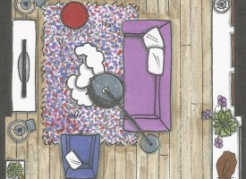 re-styling woonkamer – Barendrecht